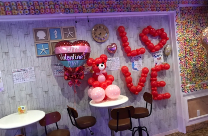 津田沼Girl's Bar Mahalo(ガールズバー マハロ)店内の写真