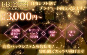 EBIEBI赤坂店 求人募集の画像
